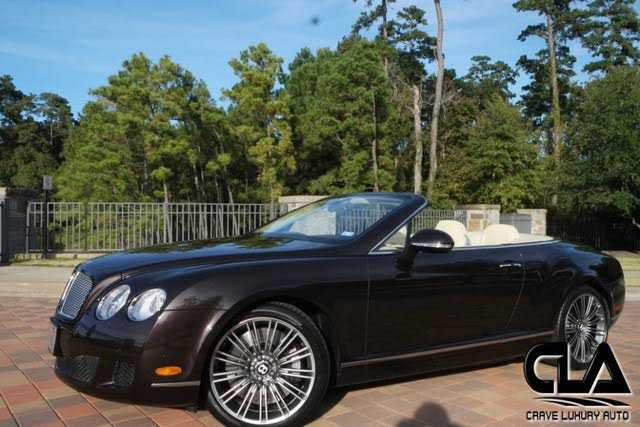 Bentley Continental 2011 $84997.00 incacar.com