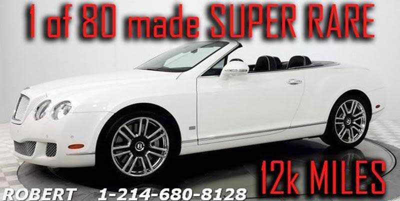 Bentley Continental 2011 $115000.00 incacar.com