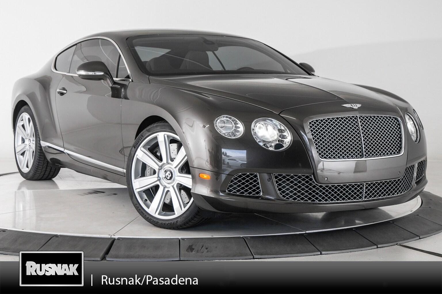 Bentley Continental 2012 $89998.00 incacar.com