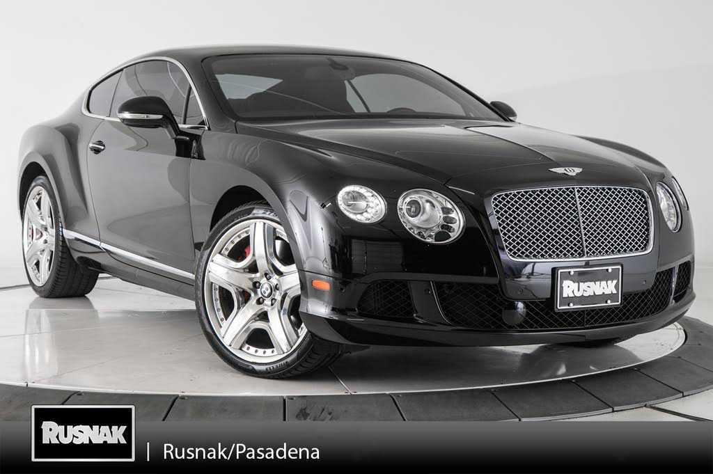 Bentley Continental 2012 $89970.00 incacar.com