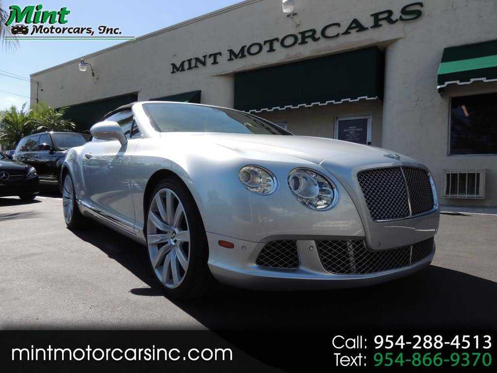 Bentley Continental 2012 $97900.00 incacar.com
