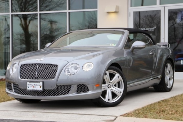 Bentley Continental 2012 $117991.00 incacar.com