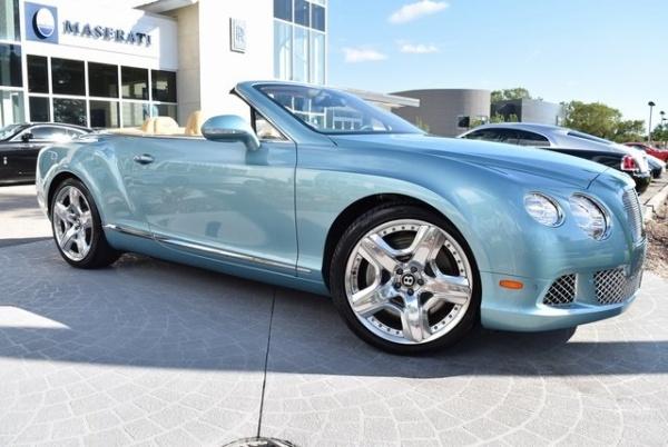 Bentley Continental 2012 $114998.00 incacar.com