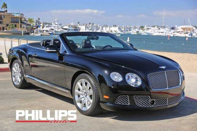 Bentley Continental 2012 $106970.00 incacar.com
