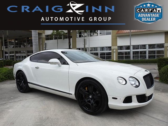 Bentley Continental 2012 $99888.00 incacar.com