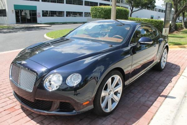Bentley Continental 2012 $91995.00 incacar.com