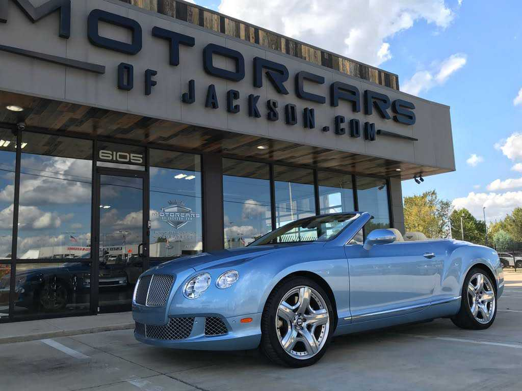 Bentley Continental 2012 $114900.00 incacar.com