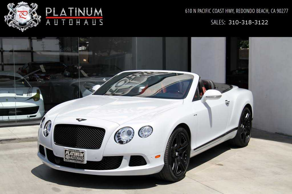 Bentley Continental 2013 $115888.00 incacar.com