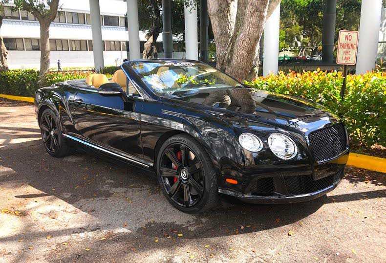 Bentley Continental 2013 $97500.00 incacar.com