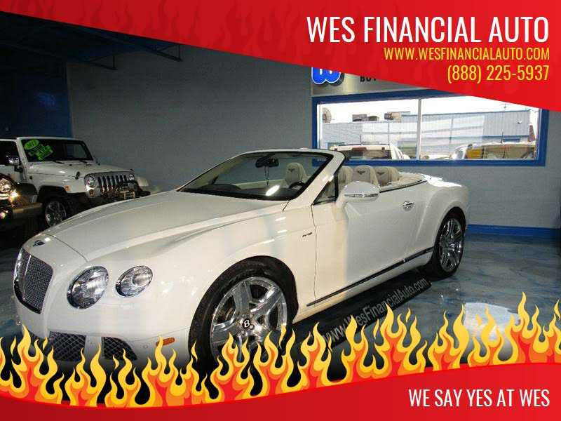 Bentley Continental 2013 $104995.00 incacar.com