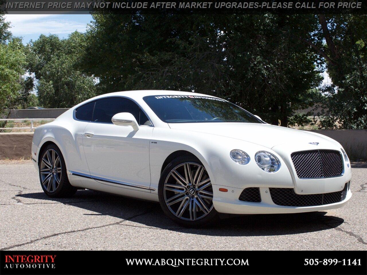 Bentley Continental 2013 $94999.00 incacar.com