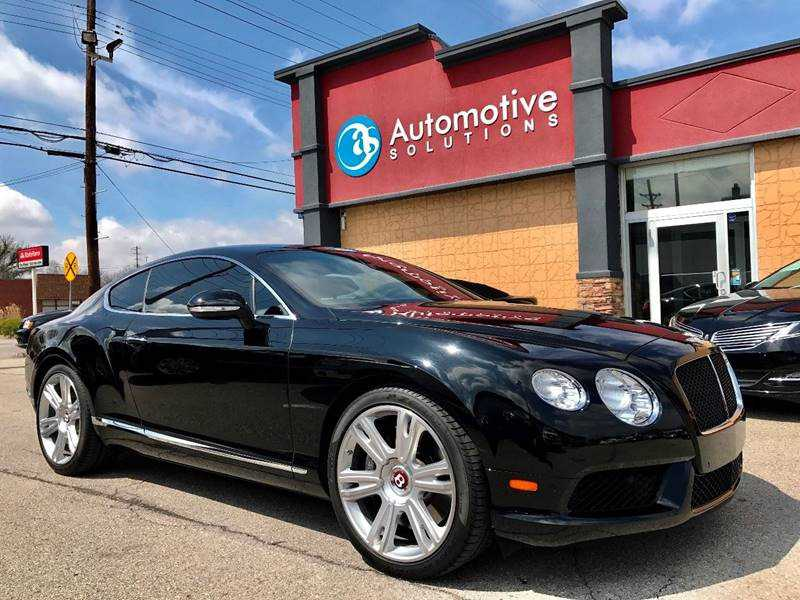 Bentley Continental 2013 $80500.00 incacar.com
