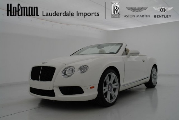 used Bentley Continental 2013 vin: SCBGT3ZA5DC083516