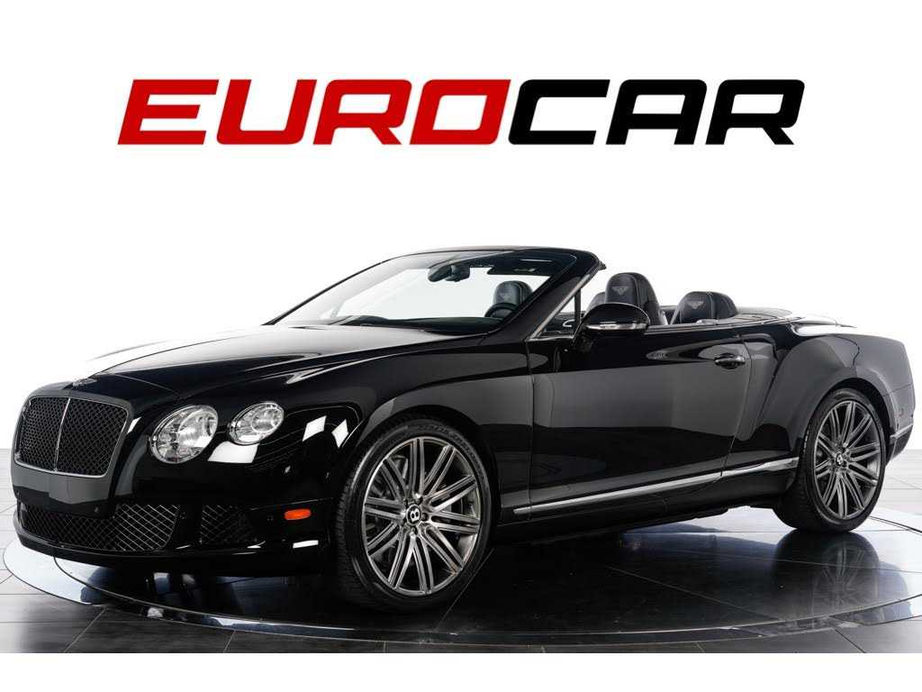 Bentley Continental 2014 $159999.00 incacar.com