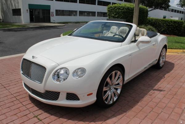 used Bentley Continental 2014 vin: SCBGU3ZA9EC090841