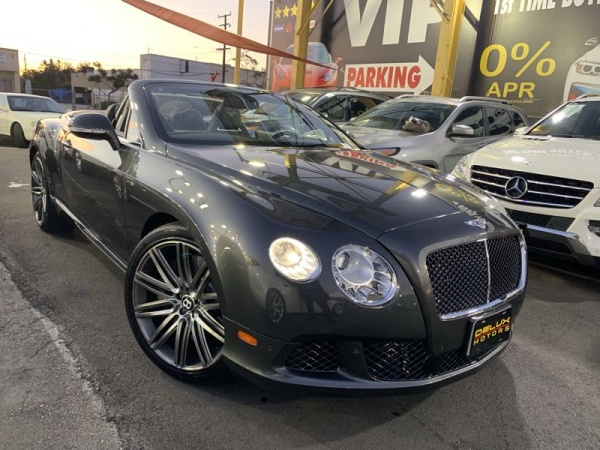 Bentley Continental 2014 $124495.00 incacar.com