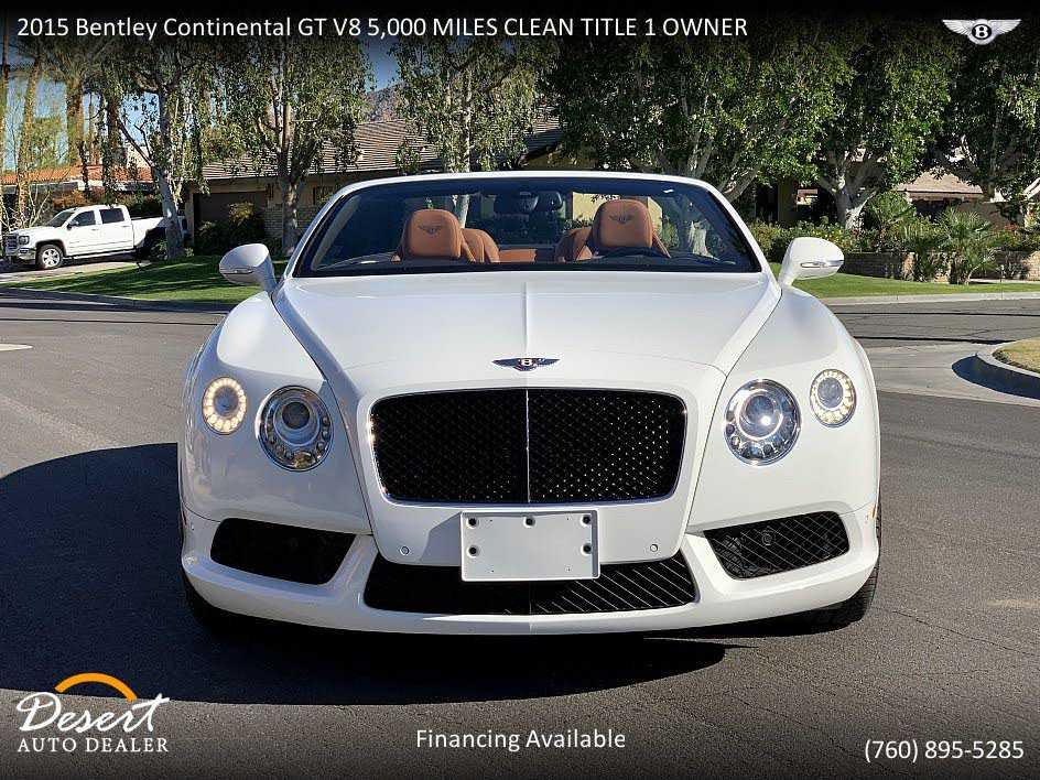 Bentley Continental 2015 $129999.00 incacar.com