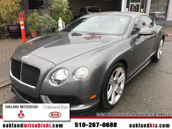Bentley Continental 2015 $124900.00 incacar.com