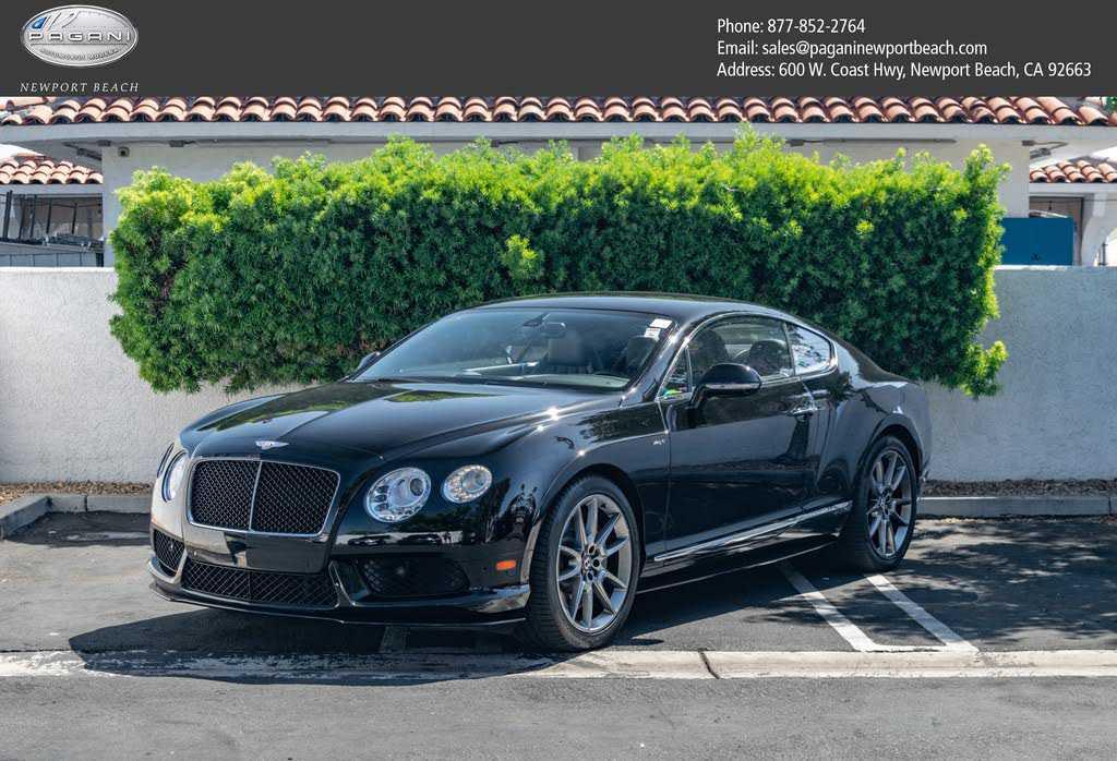 Bentley Continental 2015 $139999.00 incacar.com