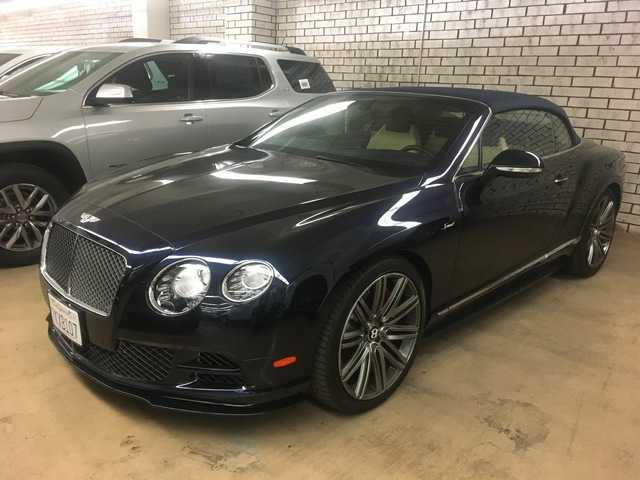 Bentley Continental 2015 $159888.00 incacar.com