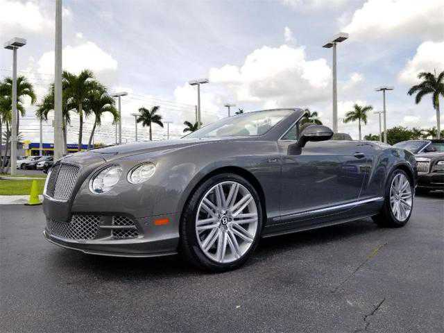 Bentley Continental 2015 $179965.00 incacar.com