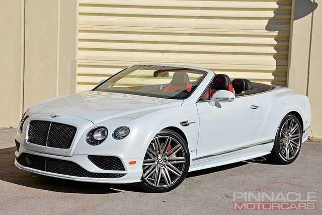 Bentley Continental 2016 $169900.00 incacar.com