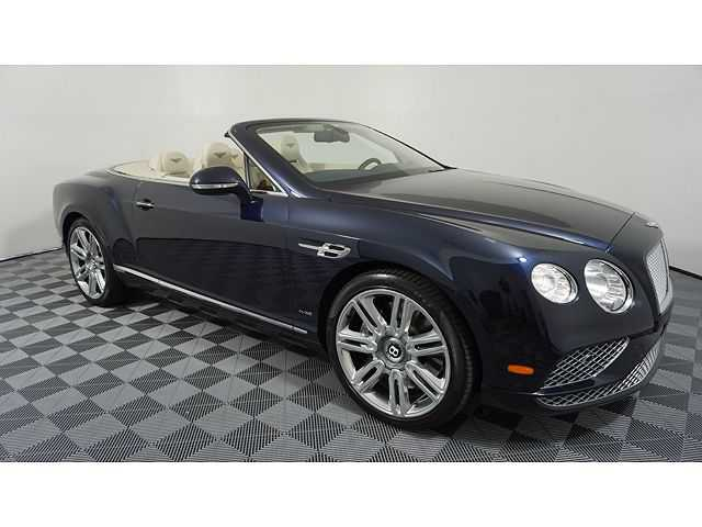 Bentley Continental 2016 $169995.00 incacar.com