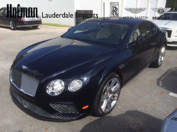 Bentley Continental 2017 $168880.00 incacar.com