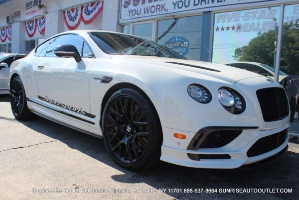 Bentley Continental 2017 $274500.00 incacar.com