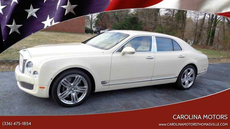 Bentley Mulsanne 2012 $159995.00 incacar.com
