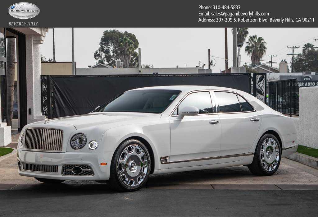 Bentley Mulsanne 2017 $229900.00 incacar.com
