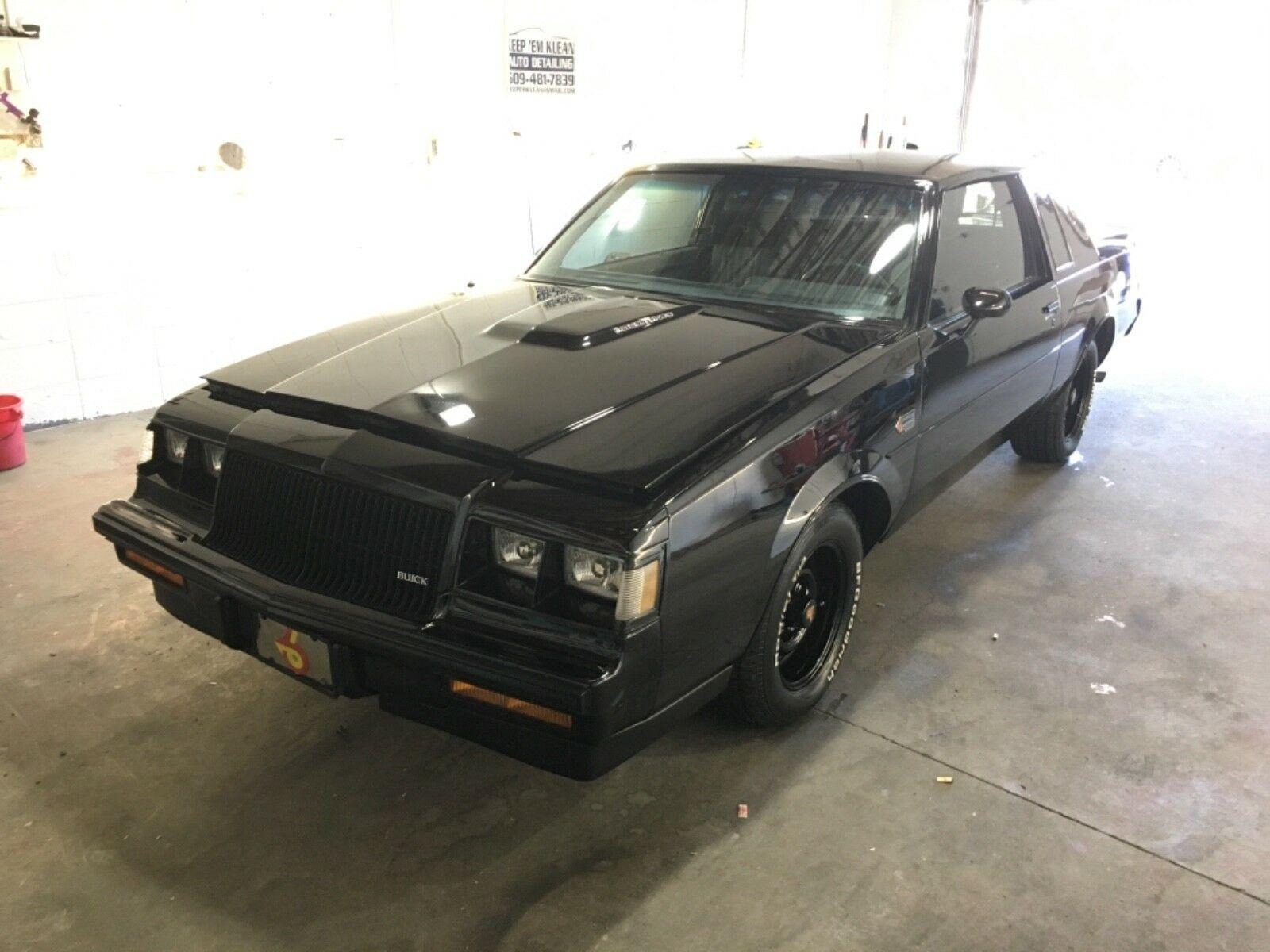 Buick Grand National 1987 $25900.00 incacar.com