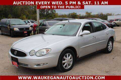 used Buick LaCrosse 2005 vin: 2G4WC532651261930