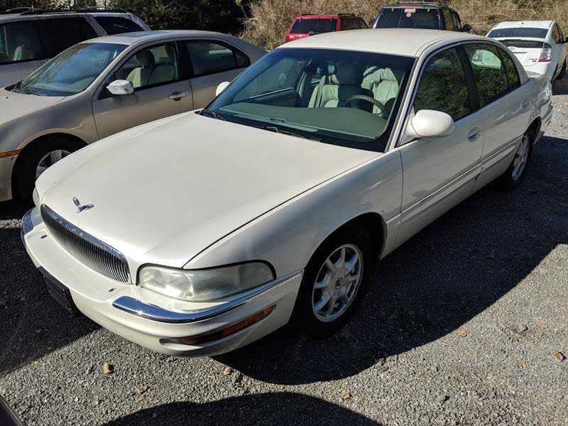 used Buick Park Avenue 2002 vin: 1G4CW54K424139320