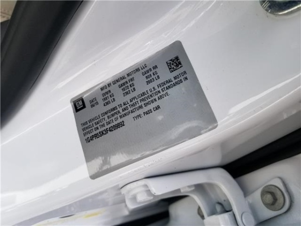 Buick Verano 2015 $15656.00 incacar.com