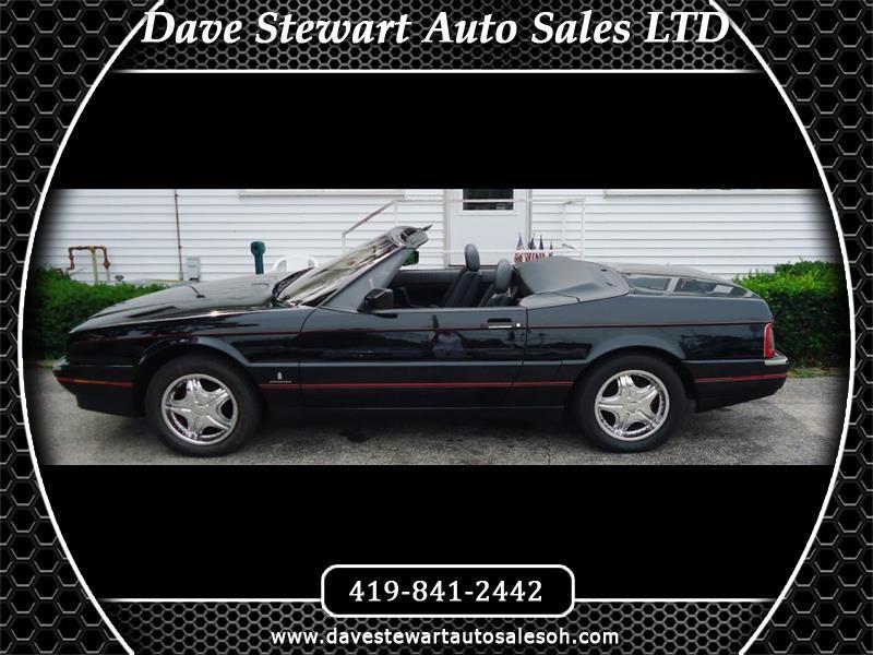 Cadillac Allante 1991 $8990.00 incacar.com