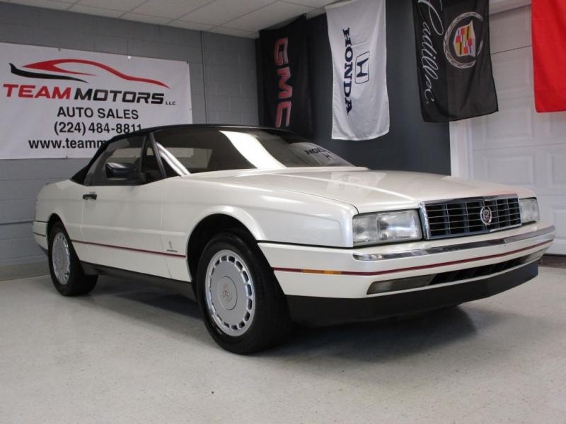 Cadillac Allante 1991 $7995.00 incacar.com