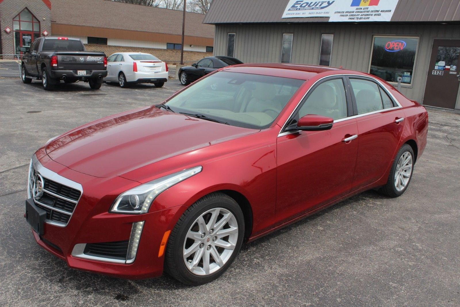 Cadillac CTS 2014 $3550.00 incacar.com