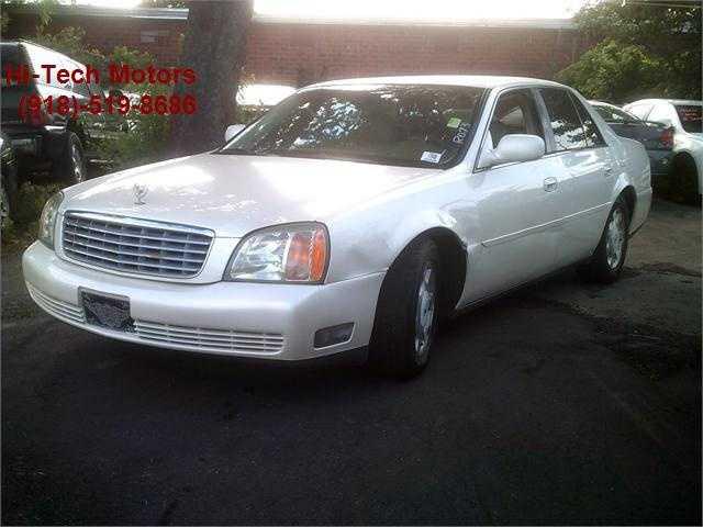 Cadillac De Ville 2002 $2500.00 incacar.com