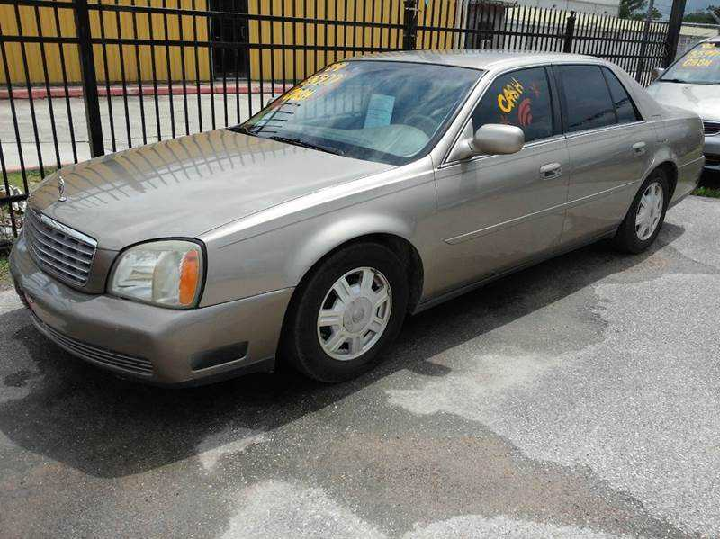 Cadillac De Ville 2004 $4500.00 incacar.com