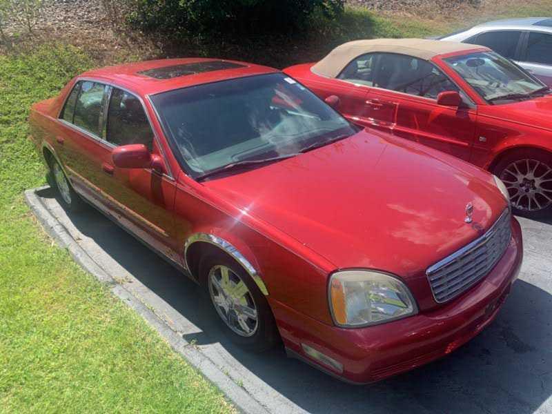 used Cadillac De Ville 2004 vin: 1G6KD54Y64U164624