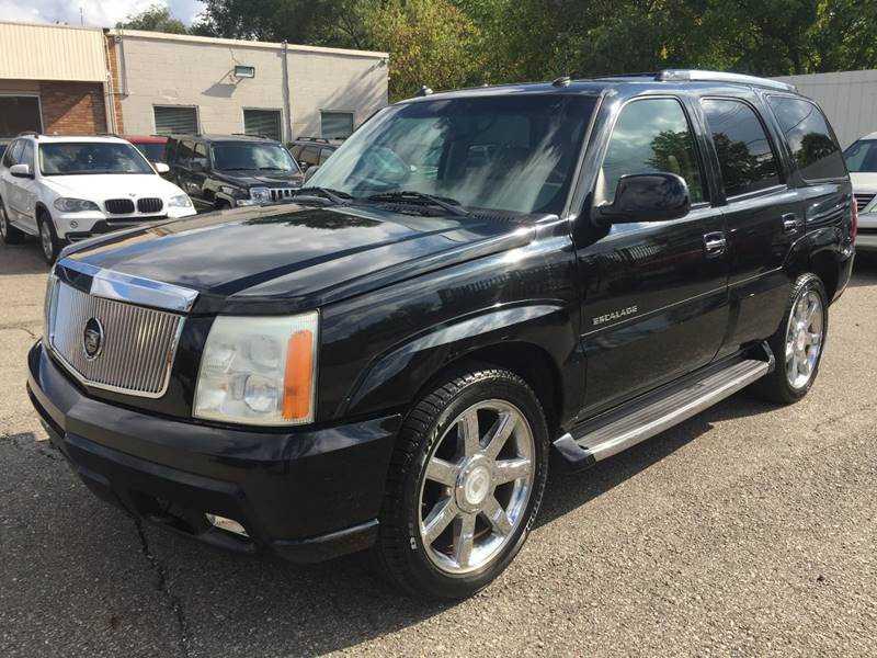 Cadillac Escalade 2003 $6995.00 incacar.com