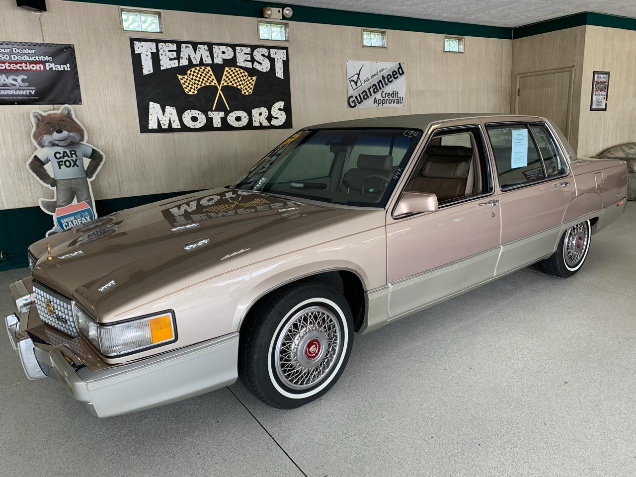 Cadillac Fleetwood 1990 $7995.00 incacar.com