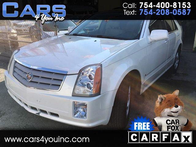used Cadillac SRX 2008 vin: 1GYEE637680103299