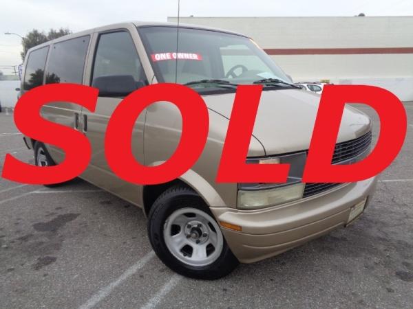 Chevrolet Astro 1999 $5995.00 incacar.com