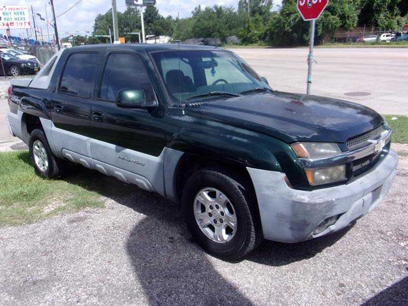 Chevrolet Avalanche 2002 $2199.00 incacar.com