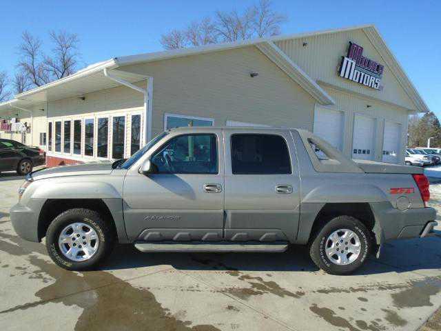 Chevrolet Avalanche 2002 $6450.00 incacar.com