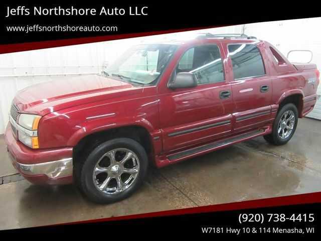 used Chevrolet Avalanche 2004 vin: 3GNEK12T74G253595
