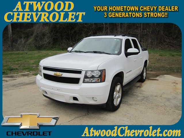 2007 chevrolet avalanche 11998 00 for sale in vicksburg ms 39180 incacar com incacar com