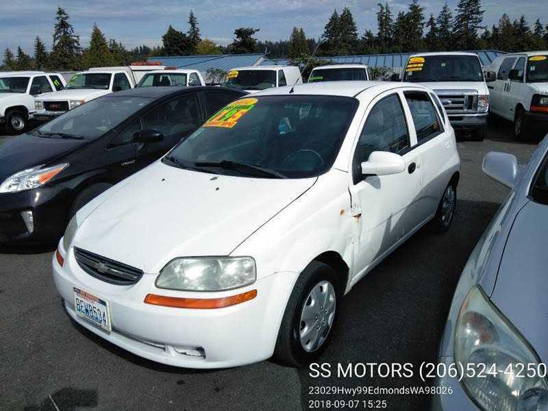 Chevrolet Aveo 2004 $1495.00 incacar.com